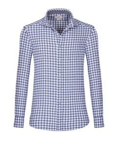 CAMICIA  SHAPED POPLIN FLANNEL FRANCESE_0
