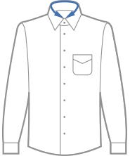 camicia colletto